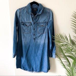 Lucky Brand | Chambray Denim Dress